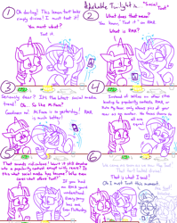 Size: 4779x6013 | Tagged: safe, artist:adorkabletwilightandfriends, cloudchaser, fluttershy, lemony gem, rarity, twilight sparkle, upper crust, alicorn, pony, unicorn, comic:adorkable twilight and friends, adorkable, adorkable twilight, cafe, cameraphone, cellphone, comic, confused, cute, dessert, dork, facebook, female, food, friendship, funny, humor, instagram, mare, meta, phone, popularity, popularity contest, restaurant, salad, slice of life, smartphone, social commentary, social media, tart, twilight sparkle (alicorn), twitter