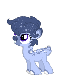 Size: 900x1200 | Tagged: safe, artist:intfighter, oc, oc only, earth pony, pony, earth pony oc, ethereal mane, hoof fluff, looking up, simple background, smiling, solo, starry mane, transparent background