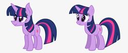 Size: 2000x839 | Tagged: safe, artist:darbypop1, twilight sparkle, pony, unicorn, simple background, unicorn twilight
