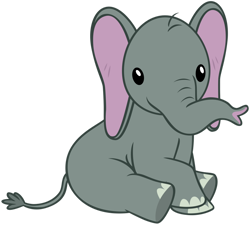 Size: 1280x1150 | Tagged: safe, artist:andoanimalia, muriel, elephant, she talks to angel, simple background, transparent background, vector