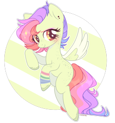 Size: 1920x2054 | Tagged: safe, artist:lazuli, oc, oc only, pegasus, pony, colored hooves, commission, eyelashes, pegasus oc, simple background, smiling, solo, transparent background, two toned wings, wings, ych result