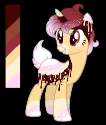 Size: 800x950 | Tagged: safe, artist:intfighter, oc, oc only, pony, unicorn, base used, eyelashes, female, grin, horn, mare, reference sheet, simple background, smiling, solo, transparent background, unicorn oc