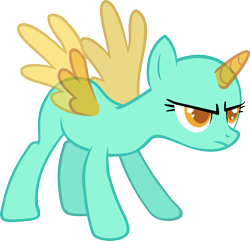 Size: 1286x1239 | Tagged: safe, artist:pegasski, oc, oc only, alicorn, pony, wonderbolts academy, alicorn oc, bald, base, eyelashes, frown, horn, simple background, solo, transparent background, two toned wings, wings