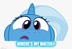 Size: 672x457 | Tagged: safe, trixie, reference, where's my water