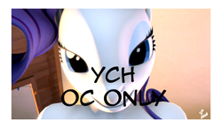 Size: 1424x828 | Tagged: safe, artist:sprinkles, rarity, solo, ych example, your character here