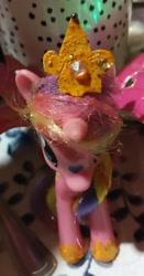 Size: 712x1354   Tagged: safe, artist:wrath-marionphauna, princess cadance, bangs, custom, handmade, irl, jewelry, photo, solo, tiara, toy