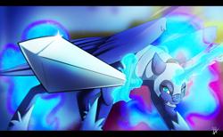 Size: 5760x3556 | Tagged: safe, artist:wolfharmony12, princess luna, alicorn, pony, absurd resolution, armor, badass, female, magic, mare, solo, sword, telekinesis, warrior luna, weapon