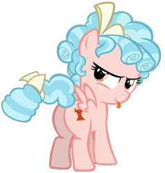 Size: 3775x3963 | Tagged: safe, artist:anonymous, cozy glow, pegasus, pony, butt, cozy glutes, cute, female, filly, freckles, looking back, plot, show accurate, simple background, solo, transparent background, vector