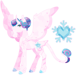 Size: 2693x2681 | Tagged: safe, artist:superkitsch, princess flurry heart, alicorn, classical unicorn, pony, beard, cloven hooves, coat markings, cutie mark, facial hair, hoof fluff, leonine tail, older, older flurry heart, simple background, solo, spread wings, tail feathers, transparent background, wings