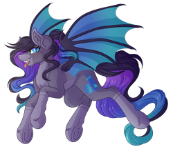 Size: 4044x3486   Tagged: safe, artist:amazing-artsong, oc, oc:eventide, bat pony, pony, female, high res, mare, simple background, solo, transparent background