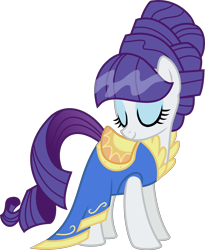 Size: 3843x4695   Tagged: safe, artist:moonseeker, rarity, pony, boast busters, clothes, dress, high res, simple background, transparent background, vector