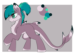 Size: 1600x1173 | Tagged: safe, artist:beardie, oc, oc:fionna, original species, shark, shark pony, chest fluff, female, fins, mare, pale belly, ponytail, reference sheet, solo, teal eyes