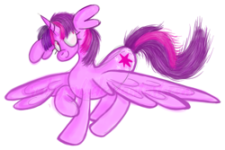 Size: 1146x765 | Tagged: safe, artist:twilightcomet, twilight sparkle, alicorn, pony, female, mare, raised hoof, simple background, smiling, solo, transparent background, twilight sparkle (alicorn)