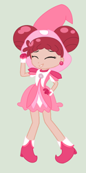 Size: 1820x3648 | Tagged: safe, artist:toybonnie54320, artist:yaya54320, human, equestria girls, base used, boots, clothes, crossover, doremi harukaze, ear piercing, earring, equestria girls style, equestria girls-ified, gloves, hat, jewelry, magical doremi, ojamajo doremi, piercing, shoes, witch, witch apprentice, witch costume, witch hat