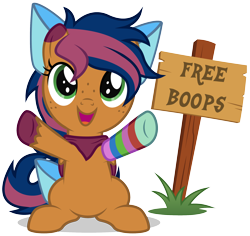 Size: 2104x1983 | Tagged: safe, artist:lightning stripe, derpibooru exclusive, oc, oc:solar comet, pegasus, pony, arms wide open, bandana, bow, bowtie, clothes, colt, commission, cute, foal, free boops, grass, green eyes, male, messy mane, ocbetes, orange coat, pegasus oc, show accurate, sign, simple background, sitting, sock, solo, tail bow, transparent background, two toned mane, two toned tail, two toned wings, vector, wings, writing