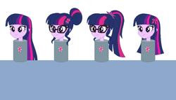 Size: 836x478 | Tagged: safe, artist:tmntlonewolf, sci-twi, twilight sparkle, equestria girls, head, twilight sparkle (alicorn)