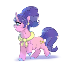 Size: 5000x5200 | Tagged: safe, artist:mylittlegodzilla, cookie crumbles, earth pony, pony, absurd resolution, cheek fluff, chest fluff, colored hooves, female, leg fluff, mare, neck fluff, profile, simple background, solo, white background