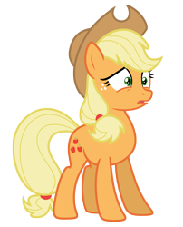 Size: 5827x7198 | Tagged: safe, artist:estories, applejack, pony, absurd resolution, female, hat, simple background, solo, transparent background, vector