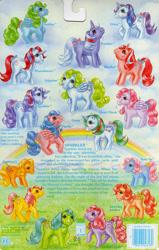 Size: 709x1118 | Tagged: safe, applejack (g1), bowtie (g1), cherries jubilee, firefly, glory, gusty, heart throb, lickety-split, medley, moondancer (g1), posey, powder, skyflier, sparkler (g1), surprise, tootsie, g1, official, adoraprise, backcard, backcard story, barcode, bow, cherries cuteilee, cute, flyabetes, g1 dancerbetes, g1 jackabetes, glorybetes, gustybetes, heartthrobetes, implied majesty, medleybetes, poseybetes, story, tail bow, tieabetes