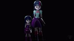 Size: 3840x2160 | Tagged: safe, artist:popa-3d-animations, twilight sparkle, equestria girls, 3d, 4k, cute, dark, daughter, female, kid, poster, source filmmaker, wallpaper