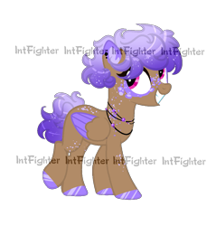 Size: 915x957 | Tagged: safe, artist:intfighter, oc, oc only, pegasus, pony, freckles, grin, hoof polish, jewelry, necklace, pegasus oc, simple background, smiling, solo, transparent background, two toned wings, watermark, wings