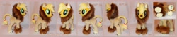 Size: 6616x1392 | Tagged: safe, artist:calusariac, applejack, pony, animal costume, applelion, clothes, costume, irl, photo, plushie, solo