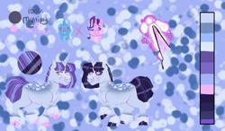 Size: 1280x750   Tagged: safe, artist:11quixotic11, starlight glimmer, trixie, oc, female, lesbian, magical lesbian spawn, offspring, parent:starlight glimmer, parent:trixie, parents:startrix, shipping, startrix