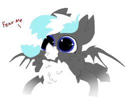 Size: 702x547 | Tagged: safe, artist:nootaz, oc, oc only, oc:snowcap, chest fluff, simple background, solo, transparent background