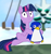 Size: 651x700 | Tagged: safe, artist:pastthesouthpole, twilight sparkle, bird, penguin, unicorn, 4chan, drawthread, imminent death, meme, parody, pure unfiltered evil, super mario 64, super mario bros., unicorn twilight, video game crossover, you monster