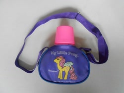 Size: 1024x768 | Tagged: safe, photographer:sweetbubbles, rosedust, flutter pony, g1, canteen, female, merchandise, queen rosedust