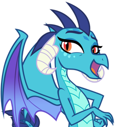 Size: 1280x1401 | Tagged: safe, artist:andoanimalia, princess ember, dragon, triple threat, cute, dragoness, emberbetes, female, simple background, transparent background, vector