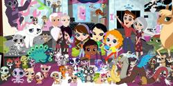 Size: 1024x512 | Tagged: safe, discord, draconequus, anti-hero, antihero, crossover, littlest pet shop, protagonist