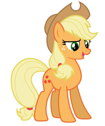 Size: 5827x7000 | Tagged: safe, artist:estories, applejack, pony, absurd resolution, simple background, solo, transparent background, vector
