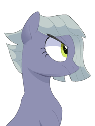 Size: 600x800 | Tagged: safe, artist:yaaaco, limestone pie, earth pony, pony, female, mare, simple background, solo, white background