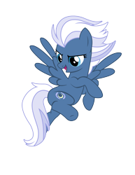 Size: 1360x1760   Tagged: safe, artist:three uncle, night glider, pegasus, pony, the cutie map, background pony, cute, female, flying, mare, pose, simple background, spread wings, transparent background, wings