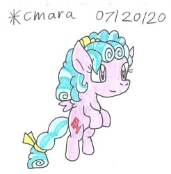 Size: 821x833 | Tagged: safe, artist:cmara, cozy glow, pegasus, pony, bow, cozybetes, cute, female, filly, flying, hair bow, simple background, solo, traditional art, white background