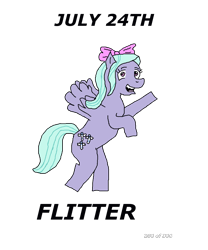 Size: 1000x1200 | Tagged: safe, artist:eunos, flitter, pegasus, bow, digital art, female, flying, hair bow, mare, simple background, smiling, solo, transparent background
