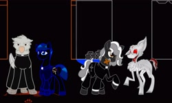 Size: 4096x2465 | Tagged: safe, artist:ghostlyhedgheog, artist:markmaker36, pony, faith, ponified, video game crossover