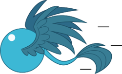 Size: 276x168 | Tagged: safe, artist:mega-poneo, gallus, griffon, ball, crossover, male, motion lines, rolling, simple background, solo, sonic the hedgehog (series), spin dash, spread wings, transparent background, wings
