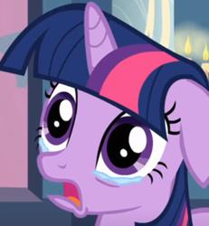 Size: 692x750 | Tagged: safe, screencap, twilight sparkle, pony, unicorn, a canterlot wedding, cropped, crying, female, heartbreak, mare, sad, teary eyes, unicorn twilight