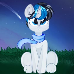 Size: 1000x1000 | Tagged: safe, artist:thieftea, oc, oc only, oc:solar gizmo, unicorn, commission, male, stallion
