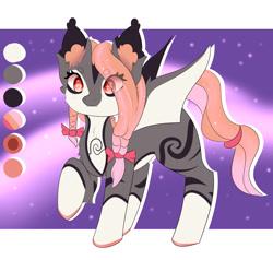 Size: 1280x1220 | Tagged: safe, artist:awakeningwind, oc, oc only, bat pony, pony, vampire bat pony, bat pony oc, bat wings, digital art, female, mare, solo, tail, wings