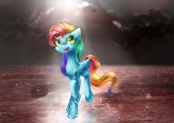 Size: 1754x1240 | Tagged: safe, artist:whiteplumage233, oc, pegasus, pony, not rainbow dash, solo