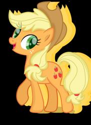 Size: 2864x3935 | Tagged: safe, artist:appleyiming, applejack, pony, simple background, solo, transparent background