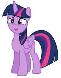 Size: 5317x6750 | Tagged: safe, artist:estories, twilight sparkle, alicorn, pony, female, mare, simple background, solo, transparent background, twilight sparkle (alicorn), vector