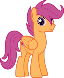 Size: 4000x4838 | Tagged: safe, artist:n0kkun, scootaloo, pegasus, pony, absurd resolution, alternate hairstyle, alternate universe, cutie mark, headcanon, male, older, older scootaloo, rule 63, scootaroll, simple background, solo, stallion, the cmc's cutie marks, trans male, transgender, transparent background, wip