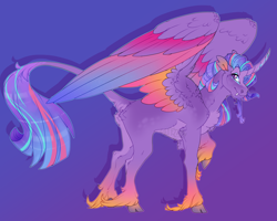 Size: 2500x2000 | Tagged: safe, artist:seffiron, oc, oc:tropical thoughts, alicorn, pony, male, solo, stallion, unshorn fetlocks
