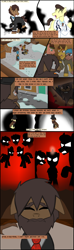 Size: 1280x4309 | Tagged: safe, artist:mr100dragon100, comic:new beginnings and new friends, adam (frankenstein monster), box, comic, crying, dark forest au's dr. jekyll and mr. hyde, dark forest au's matthew, griffin (character), red, scared, shadow figures, simple background, snow, street, white background