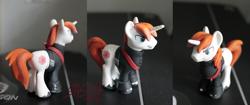 Size: 1107x465 | Tagged: safe, artist:korppipoika, pony, unicorn, clothes, custom, irl, male, photo, stallion, star wars, toy