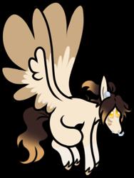 Size: 274x365 | Tagged: safe, artist:kryptidkitty, oc, oc only, oc:mocha slumber, pegasus, pony, simple background, solo, transparent background